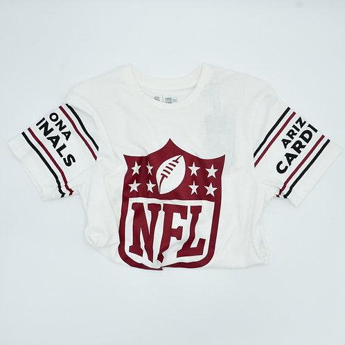 T-shirt NewEra Badge Tee Arizona Cardinals