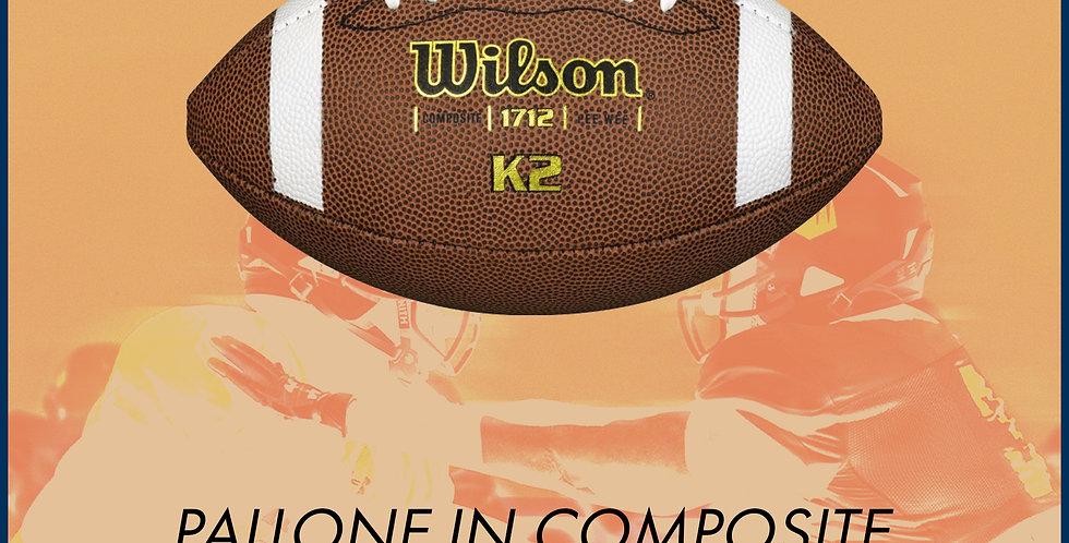 Pallone da football Wilson K2 PeeWee Composite