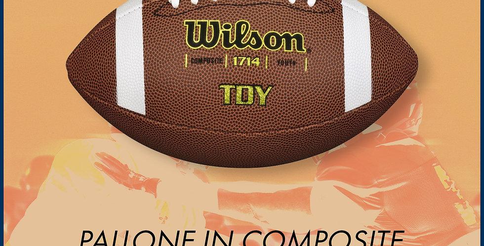 Pallone da football Wilson TDY Composite