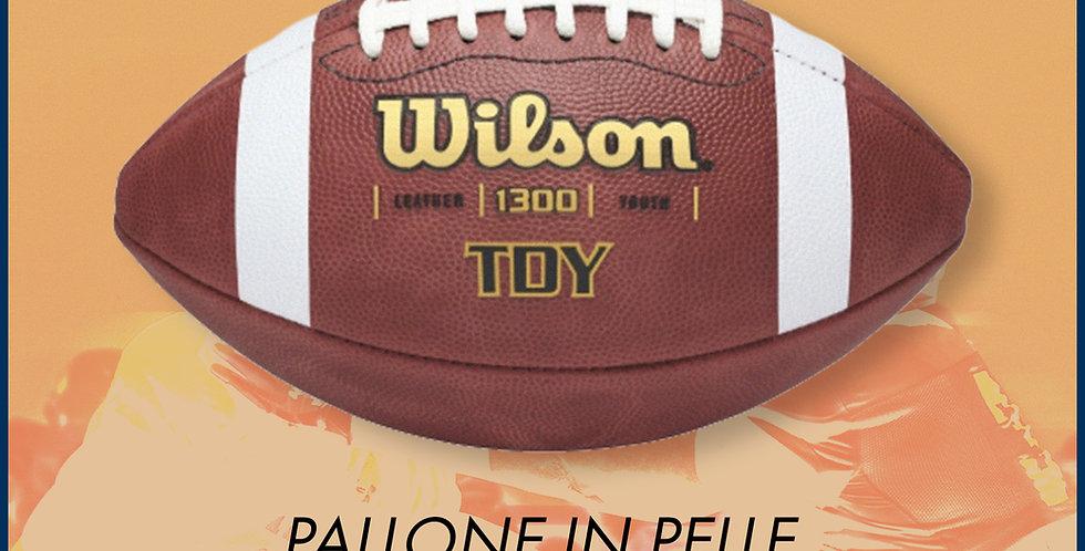 Pallone da football Wilson TDJ in pelle