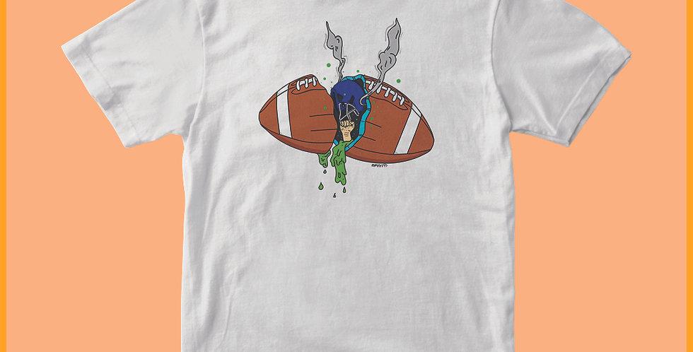 Copia di T-shirt 100% cotone Football grime