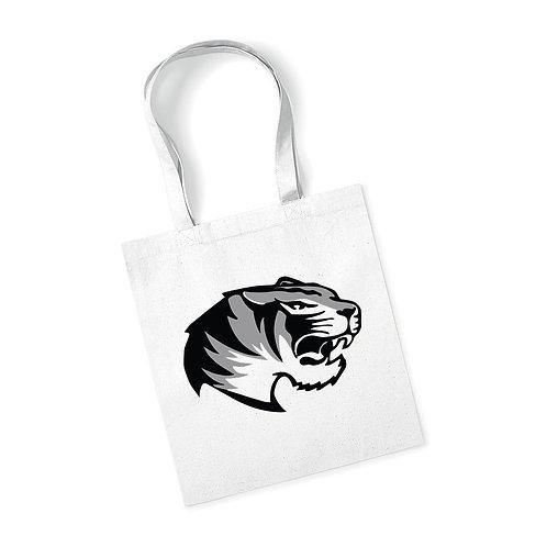 Borsa 100% cotone White Tiger