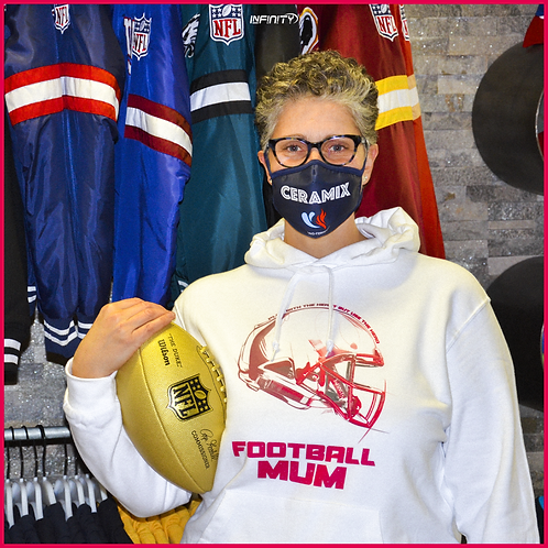 Hoodie Football Mum