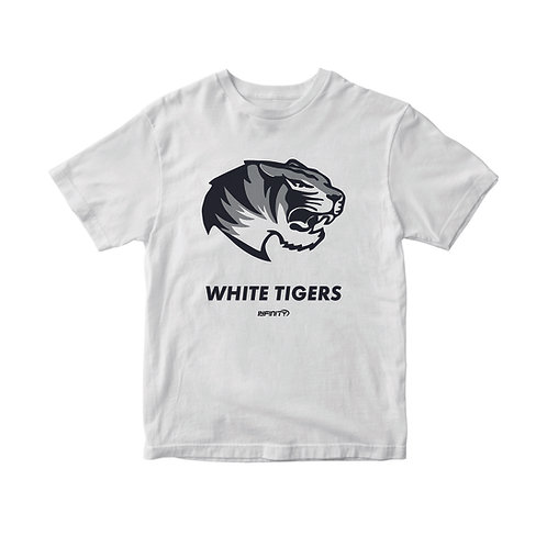 T-shirt 100% cotone White Tiger