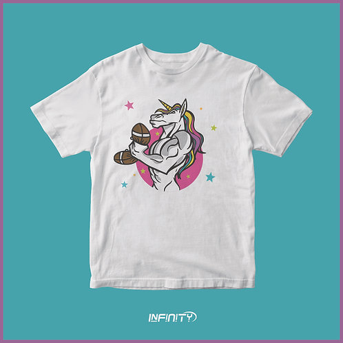 T-shirt 100% cotone Unicorn