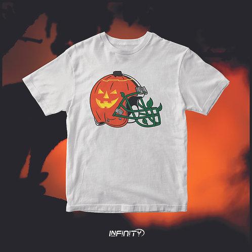 T-shirt 100% cotone Halloween Helmet