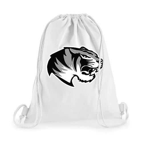 Sacca 100% cotone White Tiger