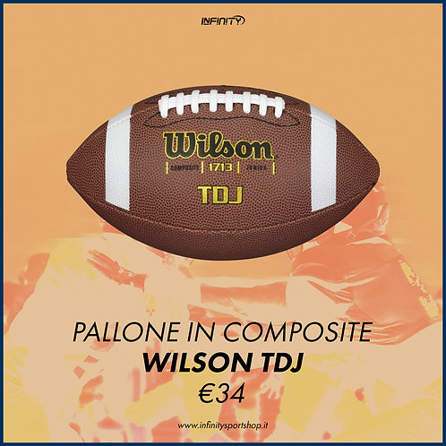 Pallone da football Wilson TDJ Composite