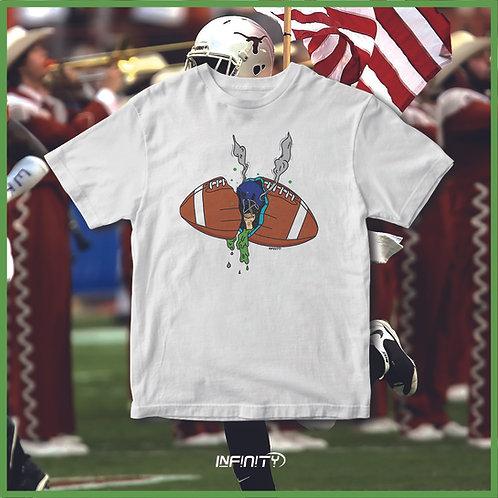 T-shirt 100% cotone Football grime