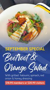 Kurrawa Surf Club_Beetroot & Orange Salad