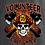 Thumbnail: Firefighter Skull & Axe Cross - Personalized