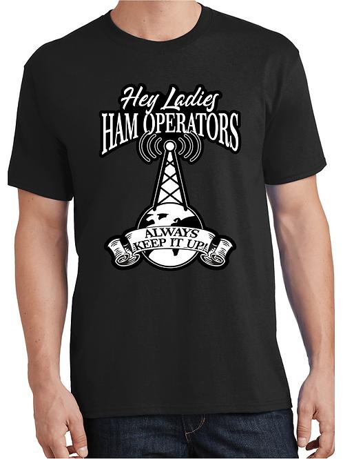 Hey Ladies Ham Operators always keep it up!