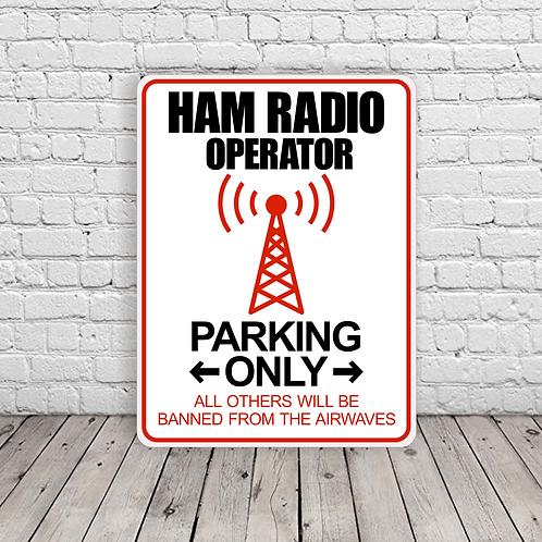 Ham Radio Operator Parking - A