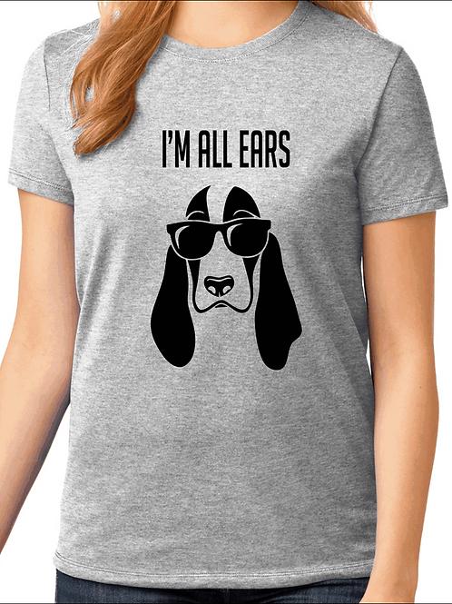 I'm all ears - Basset Hound