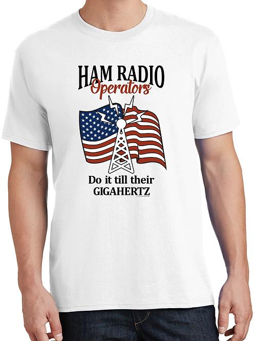 Ham Operators do it till their Gigahertz