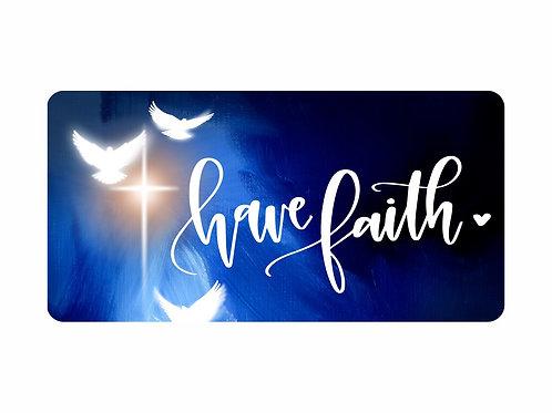 Have Faith - dove/cross