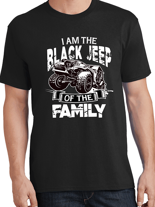 I am the black jeep of the family