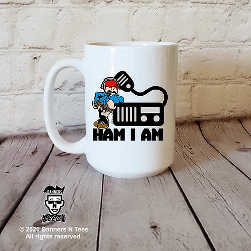 Ham I am - 15oz coffee mug