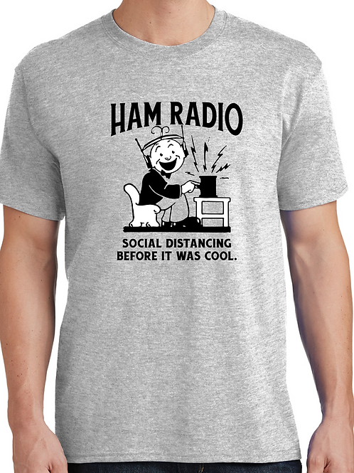 HAM RADIO - Social distancing before it was cool.