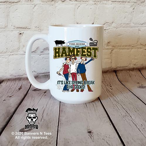 Hamfest - 15oz coffee mug