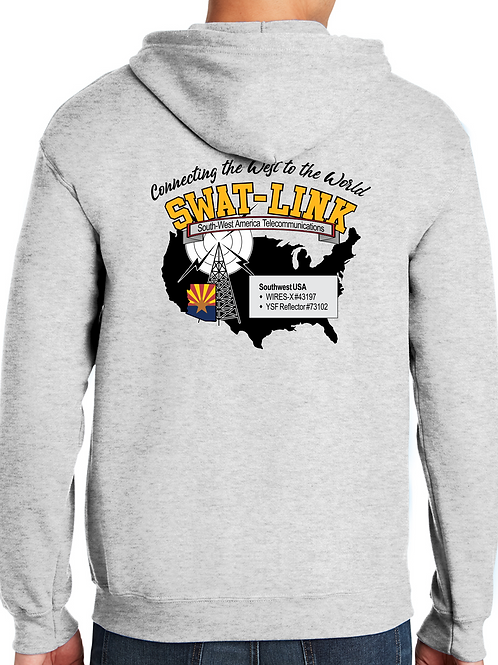 SWAT-LINK Zipper Hoodie Sweatshirt