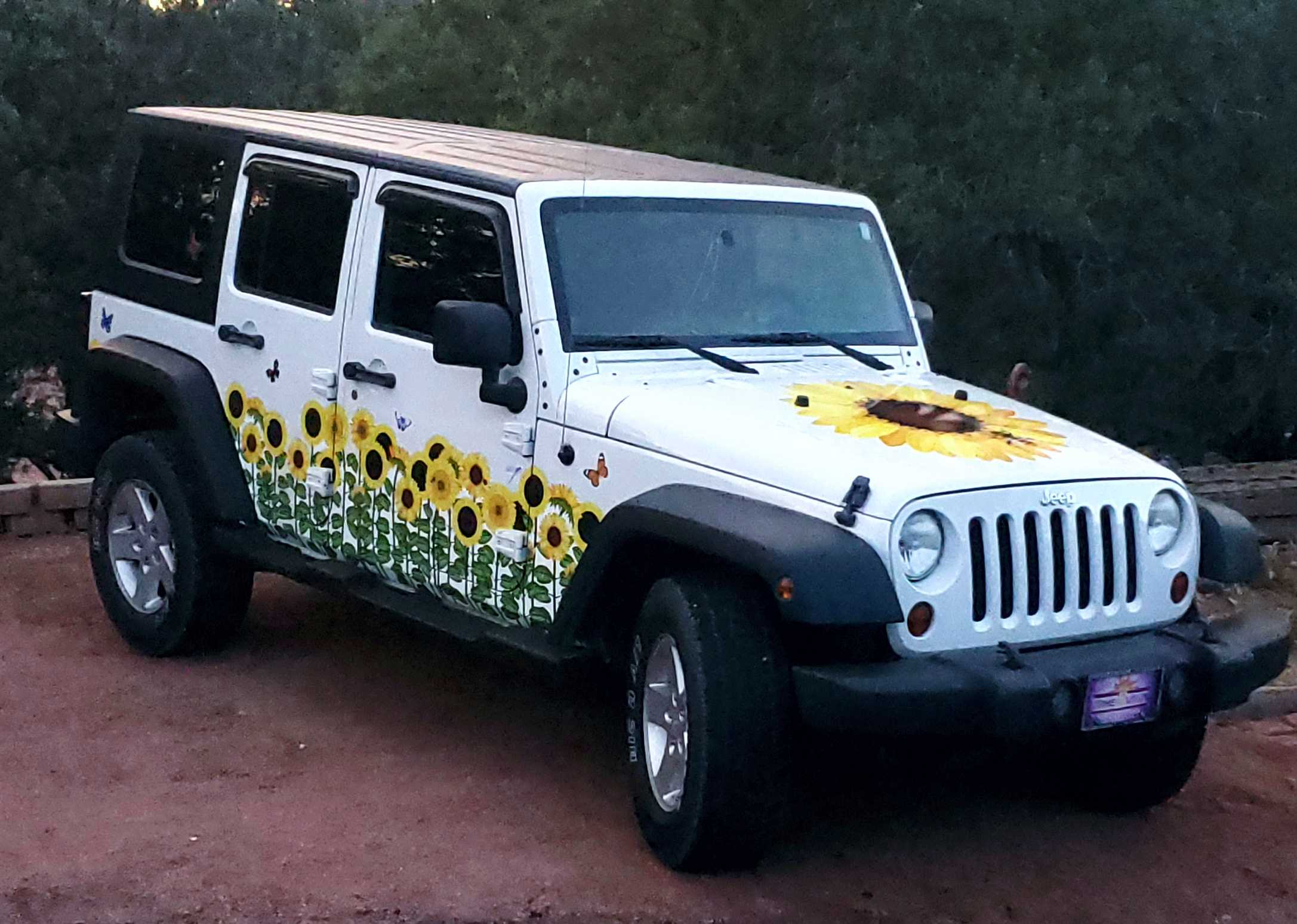 Jeep Sunflower front angle
