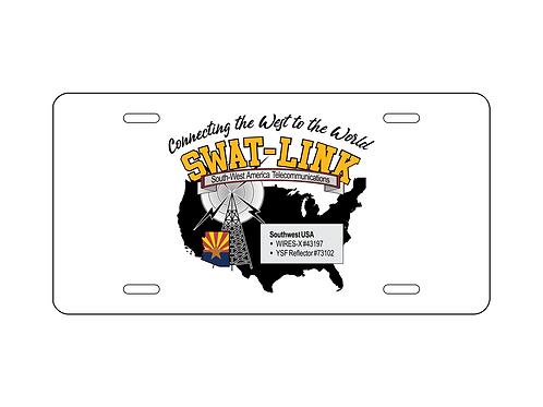 SWAT Logo License Plate