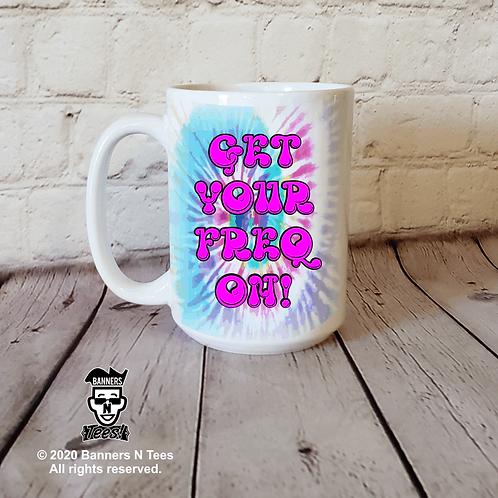 Get your FREQ on - 15oz coffee mug