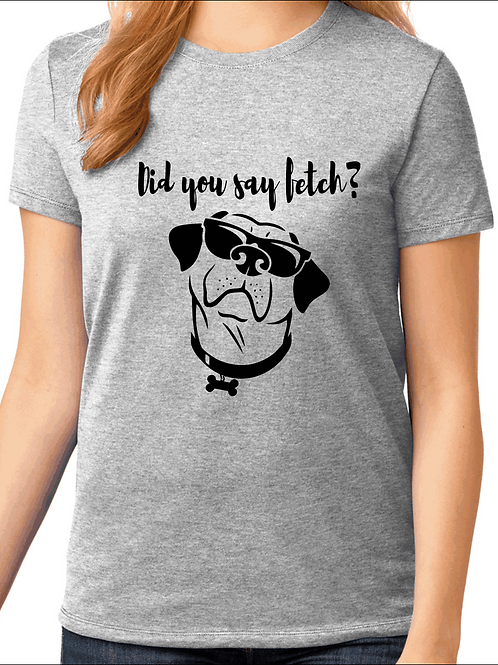 Did you say fetch? - Labrador Retriever