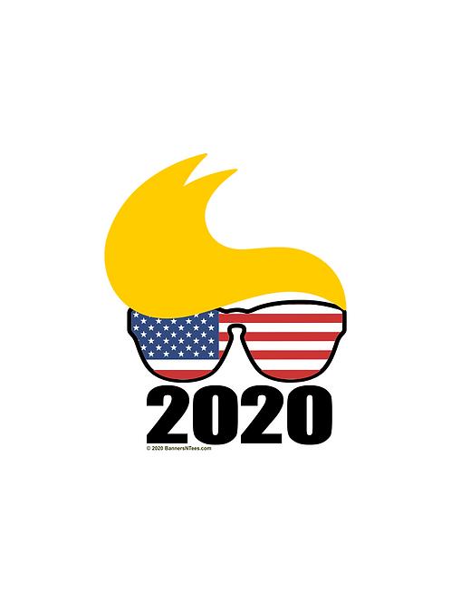 Trump 2020 American Glasses