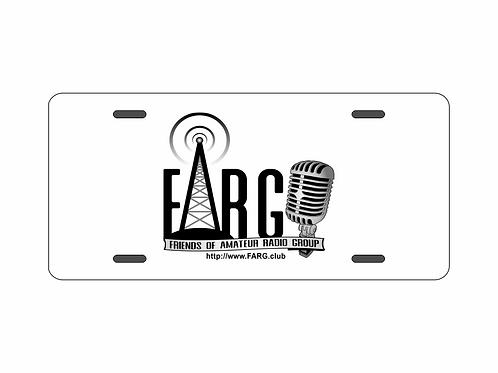 FARG Logo License Plate