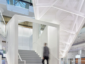 Pinterest's new headquarters featured in Architectural Record!