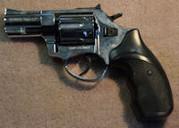 """2.5"""" Revolver-Chrome"""