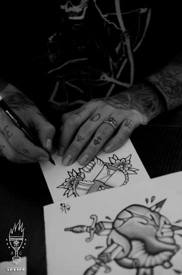 Shooting: Abe Castillo (Tatuador)