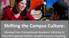 Shifting the Academic Advising Culture on Campus
