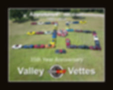 Valley Vettes 35th Year Poster Members.j