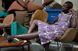 Ibeyi skirt & Nyame Top