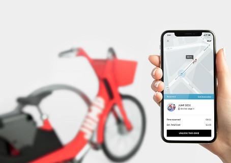 В Сан-Франциско в тестовом режиме компания UBER запустила сервис аренды электро-велосипедов