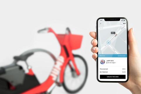 Компания Убер запустила сервис аренды электро велосипедов