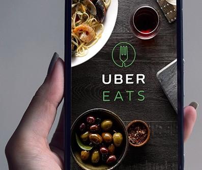 Доставка еды из ресторанов вместе с Uber
