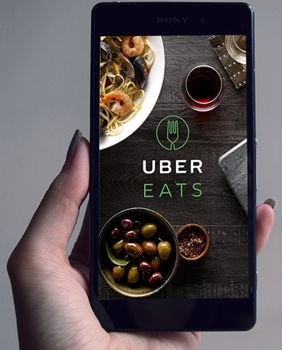 Uber планирует запустить в Украине новый сервис Uber Eats