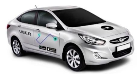 Uber повысил оплату водителям Киева за брендирование своих авто.