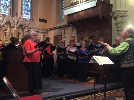 Summer 2016 – Concert in St. Andrew's Church