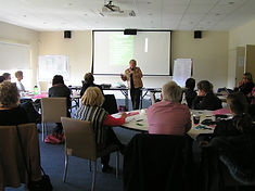 Image of workshop at a retreat