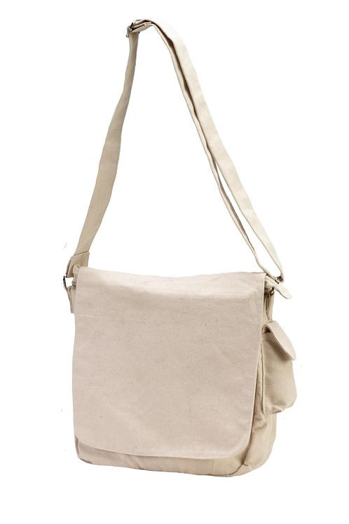 HYP CANVAS MESSENGER BAG
