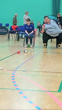 Heathcoat Cup Finals 2019 Good ball Shon