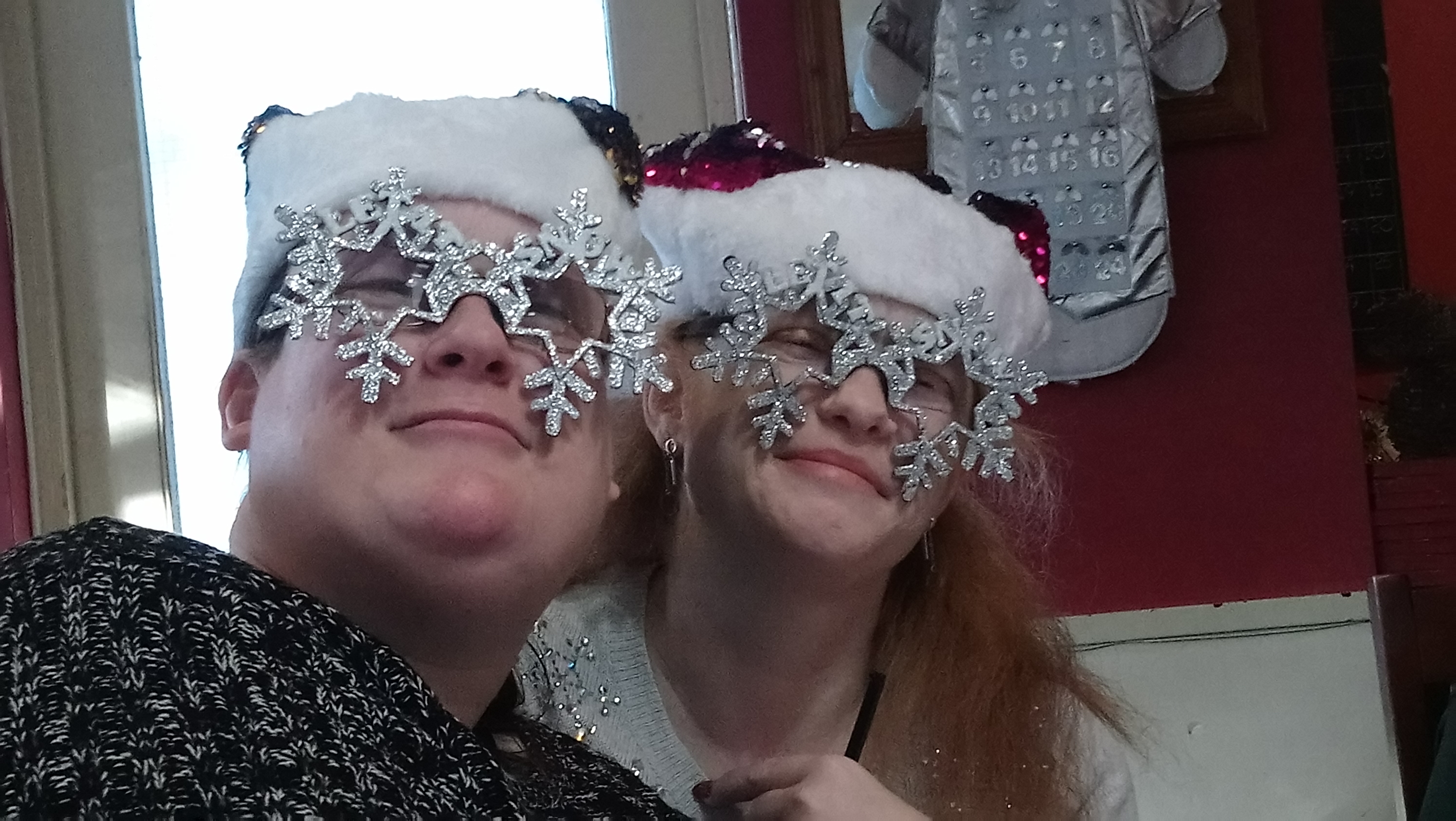 Sparkly specs Christmas 2018