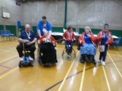 Beryl Griggs Tournament Oct 2014 Gold & Silver medallists
