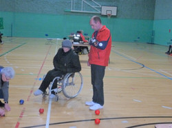 Craig (HB) & Clive (PA) playing for bronze medal