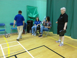 Beginning of play at Gillingham June '16
